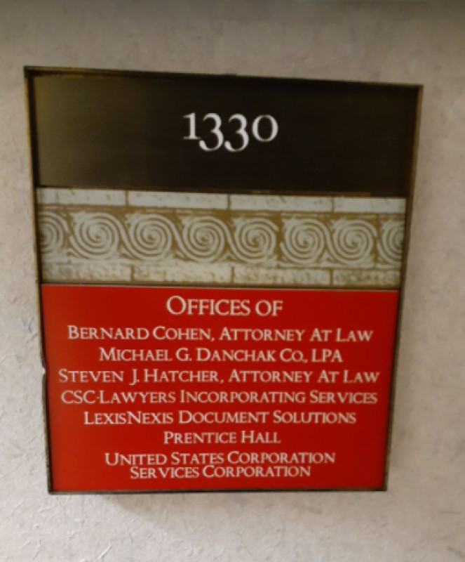CSC Lawyers Incorporating Service Ohio