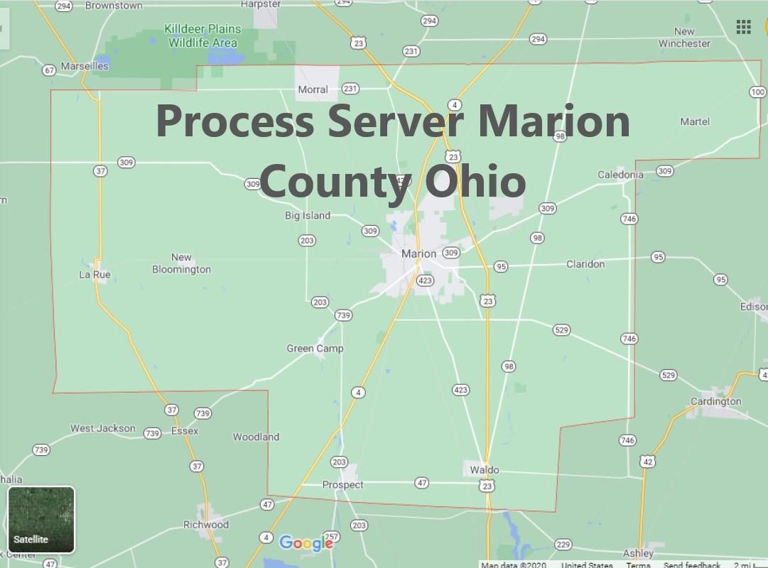 Process Server Marion County Ohio